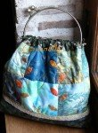 WE à St Jean de Beauregard dans art textile petite-feuille-110x150