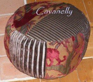 le printemps....tarde à venir,  dans art textile pouf-2-300x266